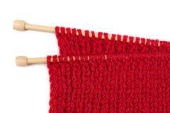 Knitting needles Stock Photos