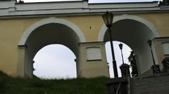 Old Hrodna Castle Stock Footage