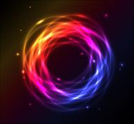 Colorful plasma background - stock illustration