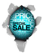 Stock Illustration of Sale discount advertisement