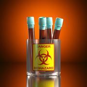 Danger Biohazard Stock Illustration