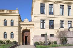 The Norwegian Nobel Institute in Oslo - stock photo