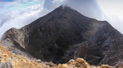 The Classic Cone Shape of Arenal Volcano in  Costa Rica Stock Footage