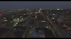 Fly over Houston Stock Footage