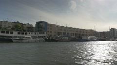 Boat trip matthew Stock Footage