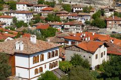 Traditional Ottoman Houses from Safranbolu, Turkey - stock photo