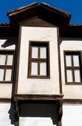 A Traditional Ottoman House from Safranbolu, Turkey - stock photo