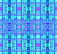 Seamless checked pattern turquoise blue purple Stock Illustration