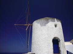 Santorini windmill Kuvituskuvat