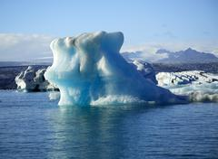 Huge Iceberg - stock photo