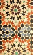 Royal Palace tiles - stock photo