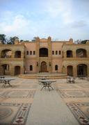Medina courtyard - stock photo