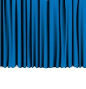 Curtain from the theatre Stock Illustration