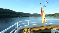Lake Titisee, Black Forest Germany Stock Footage