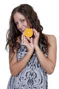 Orange SS - stock photo