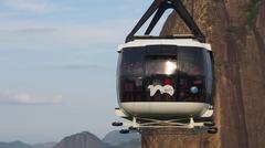 Cable Car Sugarloaf - stock photo