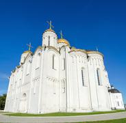 Assumption Cathedral, Vladimir, Russia - stock photo