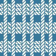 Seamless nautical rope knot pattern, fishing net - stock illustration