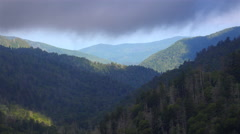 Smoky Mountains Seamless Looping Background - stock footage