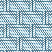 Seamless nautical rope knot pattern, lattice Stock Illustration