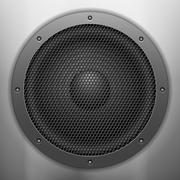 Stock Illustration of sound speaker background