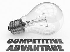 Stock Illustration of Competitive Advantage