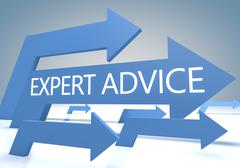 Stock Illustration of Expert Advice