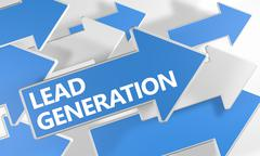 Lead Generation Stock Illustration