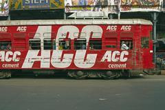 Calcutta Public Transport - stock photo