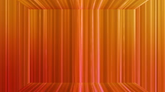 Broadcast Vertical Hi-Tech Lines Stage, Orange, Abstract, Loopable, HD Stock Footage
