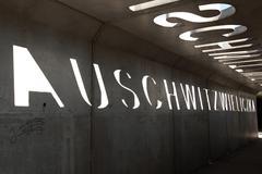 Auschwitz Wieliczka memorial Stock Photos