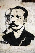 Painting of Jose Marti Cuba - stock photo