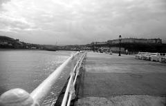 Whitby Harbour - stock photo
