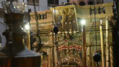 Church of the Holy Sepulchre. Stock Footage
