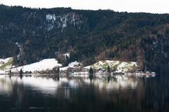 Alpine Scene, Switzerland - stock photo