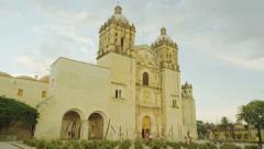 Santo Domingo Church 4k Stock Footage