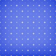 Hearts, dots and stars. - stock illustration