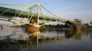 Stock Video Footage of Bridge closing.