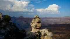 Hoodoo at the Grand Canyon Stock Footage
