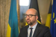 Belgian Prime Minister Charles Michel - stock photo