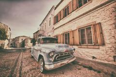 Old Classic Car Stock Photos