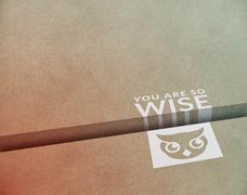 Wise Layout - stock illustration