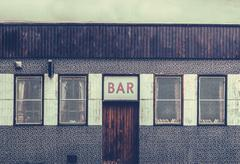 Retro Grungy Urban Bar Stock Photos