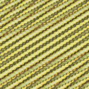 Wavy volume background. Pattern with optical illusion - stock illustration