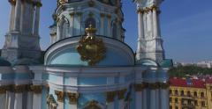 The pearl of Christian architecture Stock Footage