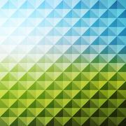 Abstract geometric background. Mosaic. Vector illustration Stock Illustration