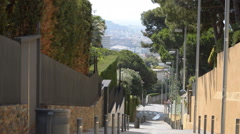 Steep Street - stock footage