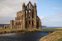 The Abbey at Whitby - stock photo