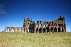 Ruins of Whitby Abbey Stock Photos