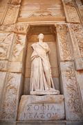Sophia, the statue of Wisdom at Ephesus - stock photo